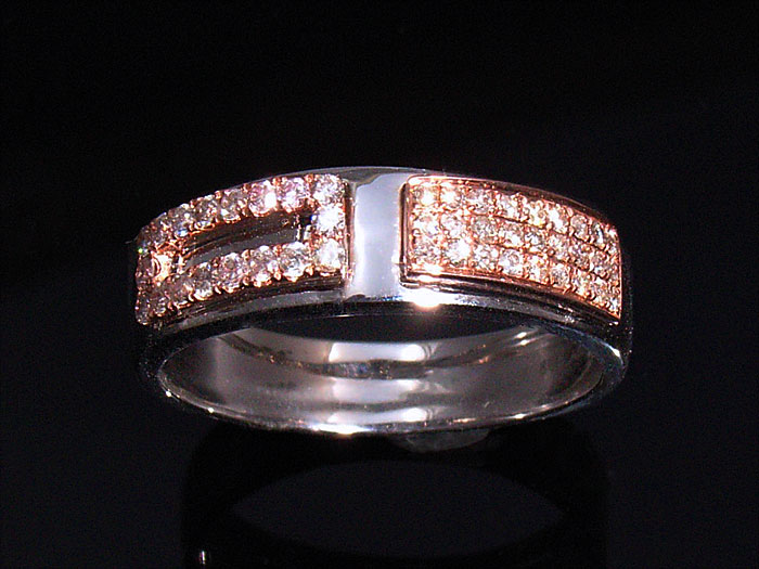 画像1: AQUAMASTERコレクション 14Kホワイトゴールド ダイヤモンド0.37ct