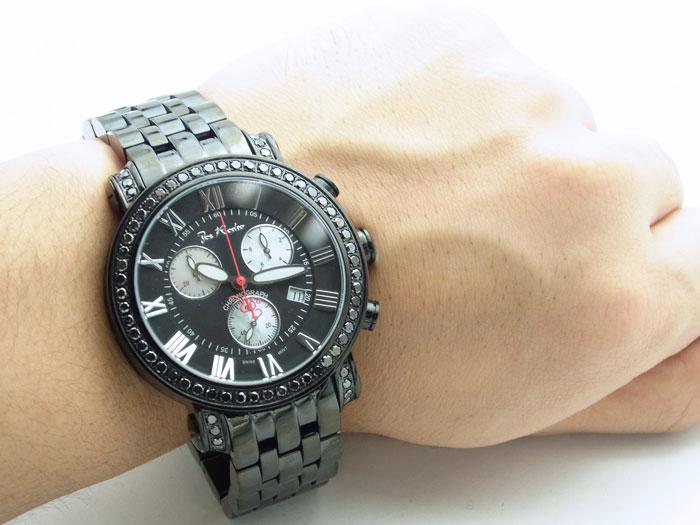 画像4: Joe Rodeo【ジョーロデオ】 Classic ブラックコレクション ブラックダイヤモンド3.5 ct JCL107NEWモデル