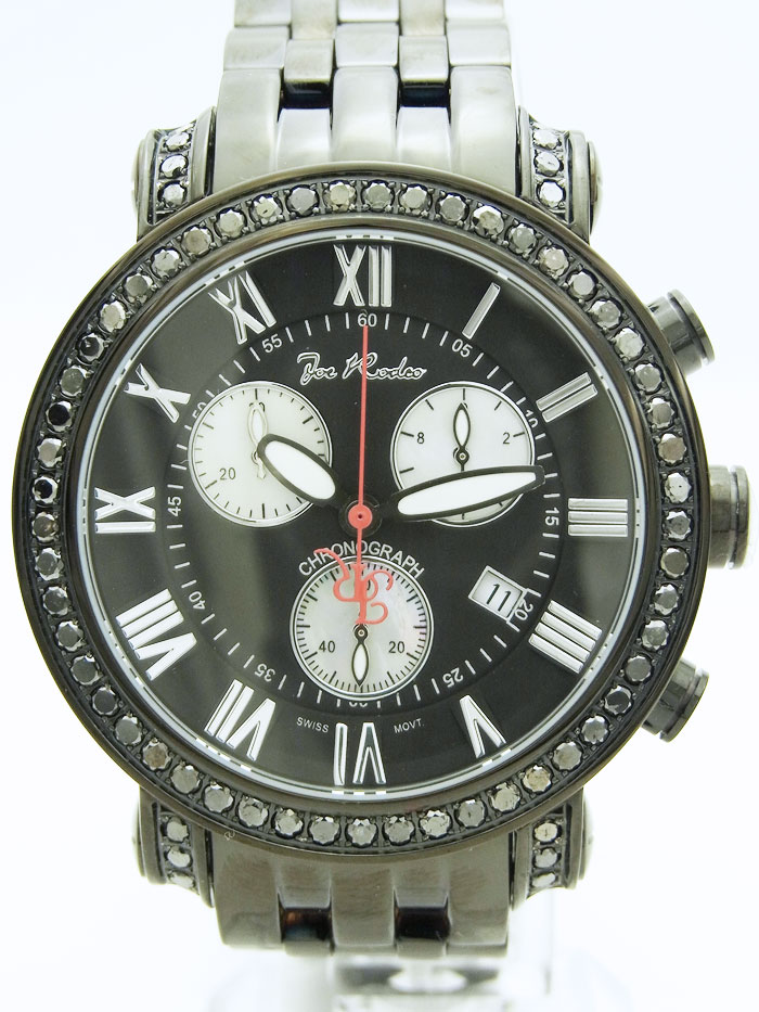 画像1: Joe Rodeo【ジョーロデオ】 Classic ブラックコレクション ブラックダイヤモンド3.5 ct JCL107NEWモデル
