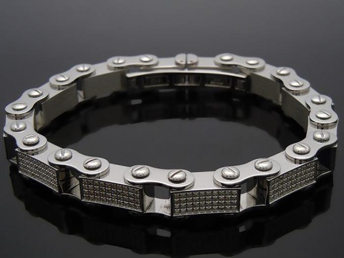 画像1: Joe Rodeo ステンレスライン ダイヤモンド4ct※こちらの商品はお取り寄せになります。ご購入の際はお問い合わせ下さい。