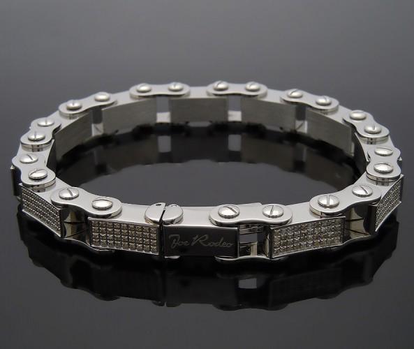 画像2: Joe Rodeo ステンレスライン ダイヤモンド4ct※こちらの商品はお取り寄せになります。ご購入の際はお問い合わせ下さい。