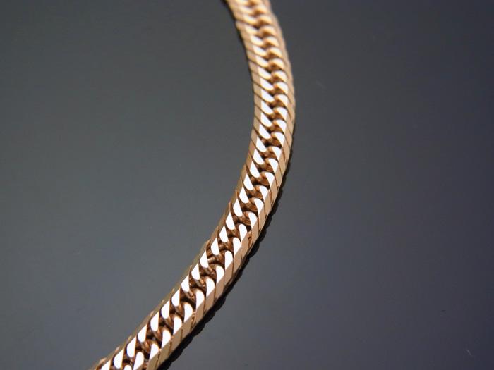 画像2: 18kイエローゴールド 8面 トリプルカット 喜平ブレスレット 20cm キヘイ 18金